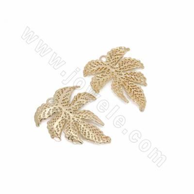 Brass Connectors, Leaf,...