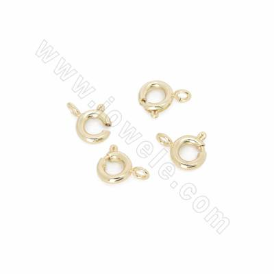 Brass Spring Clasps, Real...