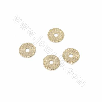 Brass Bead Spacers, Real...