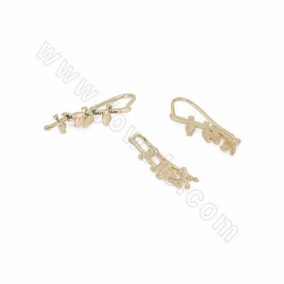 Brass Hook Earring...