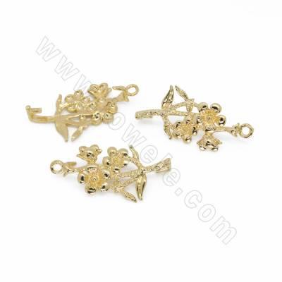 Brass Pendant Bails,...
