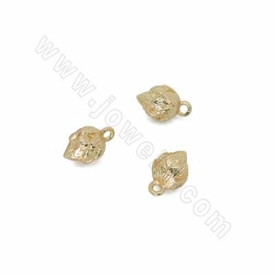 Brass Pendants, Rose bud,...