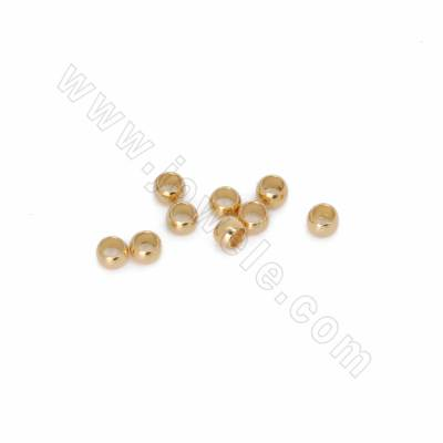 Brass Spacer Beads, Real...