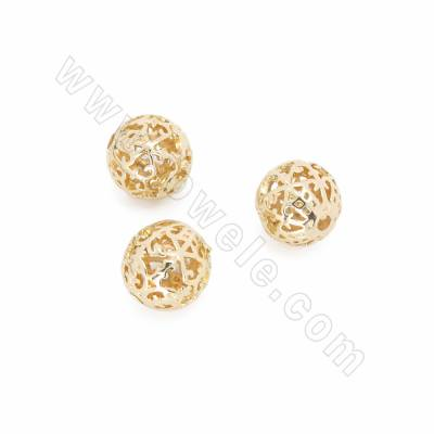 Brass Beads, Hollow Beads,...