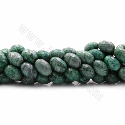 Green Picture Jasper Beads...