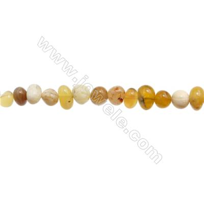 "Natural Australian jade Beads Strand  Chips  Size 6~7x8~11mm  hole 1mm  15~16"" x 1strand"