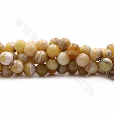 Natural Yellow Opal Beads...