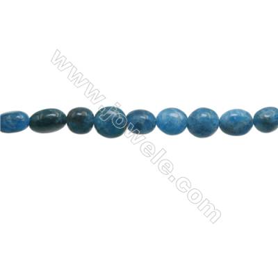 "Natural Apatite Beads Strand  Irregular  About 8~8x8~11mm  hole 1mm 15~16"" x 1strand"