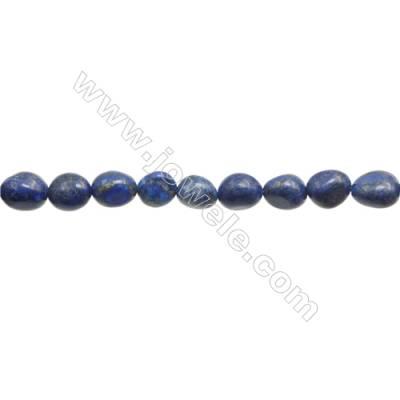 "Natural Lapis Lazuli Beads Strand  Irregular  Size 5~6x9~10mm  hole 1mm  15~16"" x 1strand"