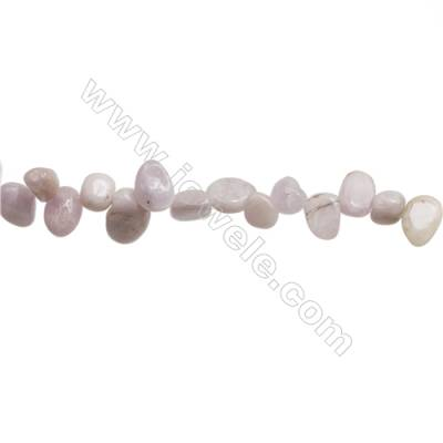 "Natural Kunzite Beads Strand  Irregular  About 4~5x8~12mm  hole 1mm 15~16"" x 1strand"