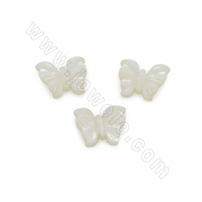 Butterfly shape  white...