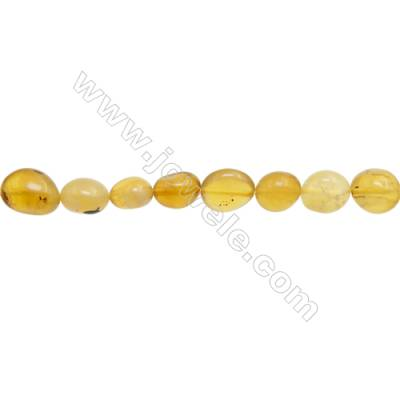 "Natural Yellow Opal Beads  Irregular  Size 8~10x9~10mm   hole 1mm  15~16"" x 1strand"