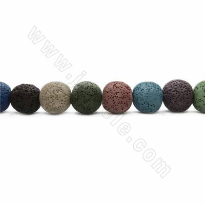 Natural Stone Lava Beads...