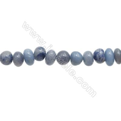 "Natural Gemstone Sodalite Beads Strand  Irregular  Size 7~12x11~12mm   hole 1mm  15~16"" x 1strand"