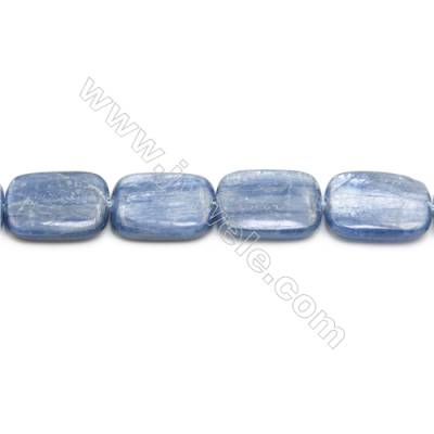 Natural Kyanite Beads Strand  Rectangle  Size 15x20mm  hole 1mm  about 20 beads/strand 15~16""