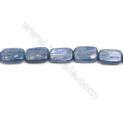 Natural Kyanite Beads Strand  Rectangle  Size 13x18mm  hole 0.8mm  about 23 beads/strand 15~16""
