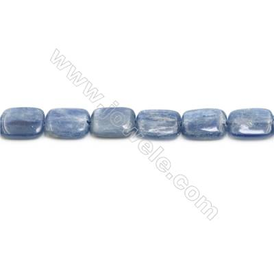 Natural Kyanite Beads Strand  Rectangle  Size 12x16mm  hole 0.8mm  about 26 beads/strand 15~16""
