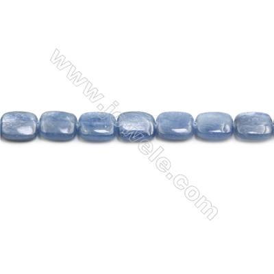 Natural Kyanite Beads Strand  Rectangle  Size 10x12mm  hole 0.8mm  about 36 beads/strand 15~16""
