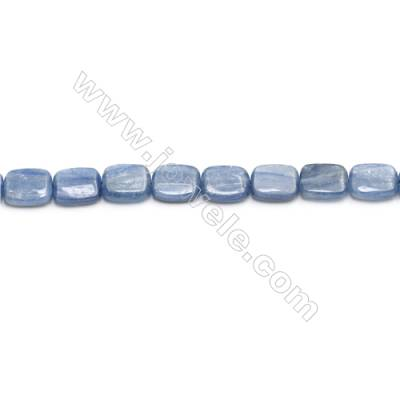 Natural Kyanite Beads Strand  Rectangle  Size 9x11mm  hole 0.8mm  about 37 beads/strand 15~16""