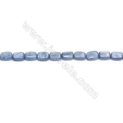 Natural Kyanite Beads Strand  Rectangle  Size 6x8mm  hole 0.6mm  about 51 beads/strand 15~16""