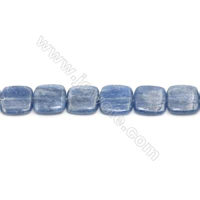 Natural Kyanite Beads Strand  Square  Size 18x18mm  hole 1mm  about 23 beads/strand 15~16""