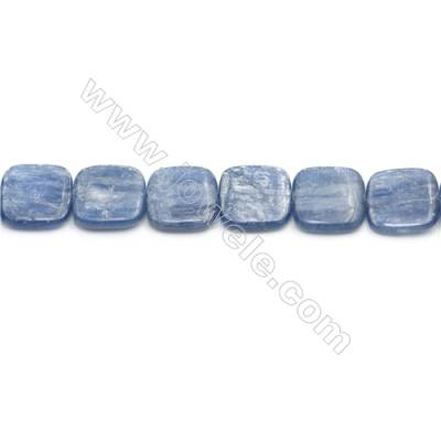 Natural Kyanite Beads Strand  Square  Size 16x16mm  hole 0.8mm  about 25 beads/strand 15~16""