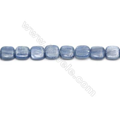 Natural Kyanite Beads Strand  Square  Size 14x14mm  hole 0.8mm  about 29 beads/strand 15~16""