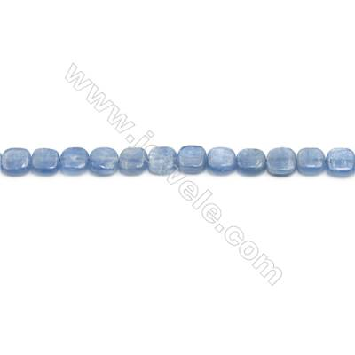 Natural Kyanite Beads Strand  Square  Size 8x8mm  hole 0.6mm  about 52 beads/strand 15~16""