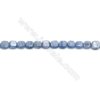 Natural Kyanite Beads Strand  Square  Size 6x6mm  hole 0.6mm  about 64 beads/strand 15~16""