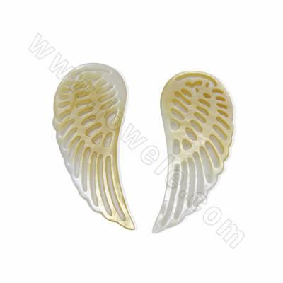Wings design yellow...