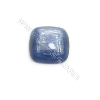Natural Kyanite Square Cabochon  Flat Back  Size 14x14mm  10 pcs/pack