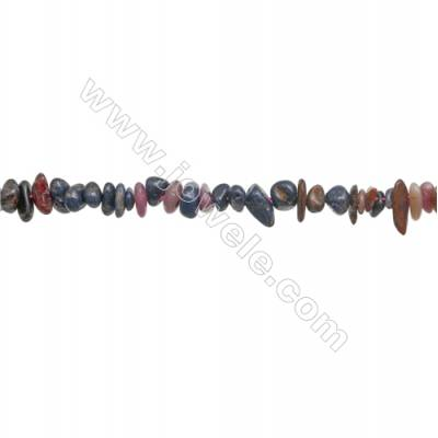 """Natural Mixture Gemstone Beads Strand  Chips  Size 4~8x5~12mm  hole 0.8mm  15~16"""" x 1strand"""