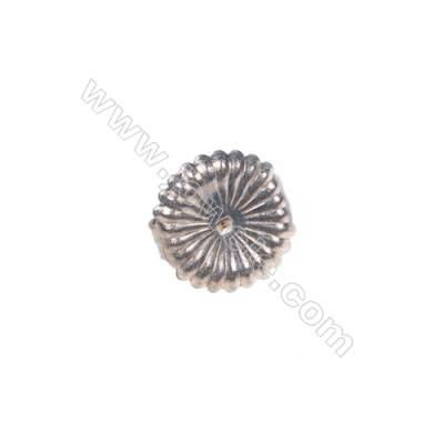 925 sterling silver earring findings, 9mm, x 30pcs, hole 0.8mm