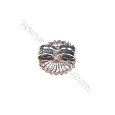 925 sterling silver earring findings 9mm x 30 hole diameter 0.8mm