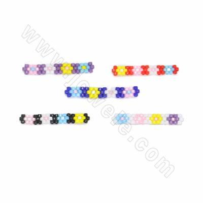 MiyukiGlass seed beads...