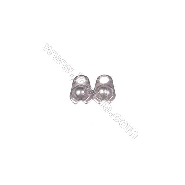 925 Sterling silver earnut/clutches earring findings, 3mm, x 200pcs