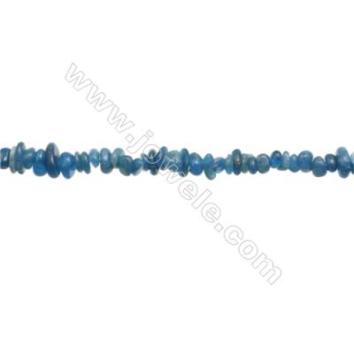 """Natural Apatite Beads Strand  Chips  Size 4~9x4~10mm  hole 0.8mm  15~16"""" x 1strand"""