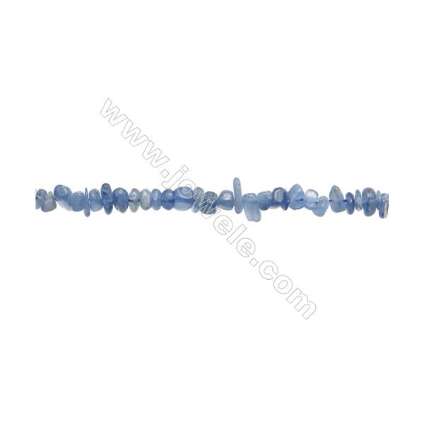 """Natural Kyanite Chips Beads  Size 4~9x6~13mm  hole 0.8mm  15~16"""" x 1strand"""
