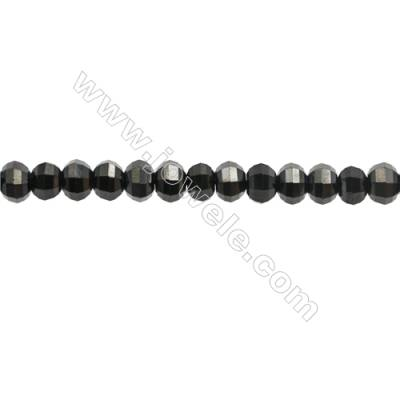 Natural Spinel Beads Strand  Faceted Abacus  Size 5x6mm  hole 0.8mm  about 87 beads/strand  15~16""