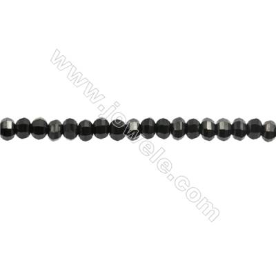 Natural Spinel Beads Strand  Faceted Abacus  Size 3x5mm  hole 0.8mm  about 121 beads/strand  15~16""