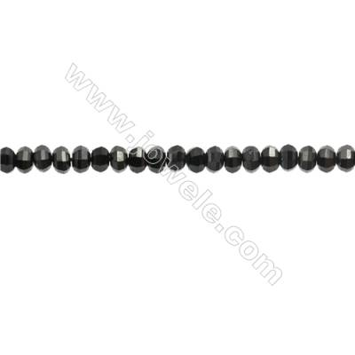 Natural Spinel Beads Strand  Faceted Abacus  Size 3x4mm  hole 0.6mm  about 136 beads/strand  15~16""