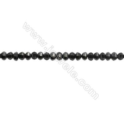 Natural Spinel Beads Strand  Faceted Abacus  Size 2.5x3.5mm  hole 0.6mm  about 161 beads/strand  15~16""