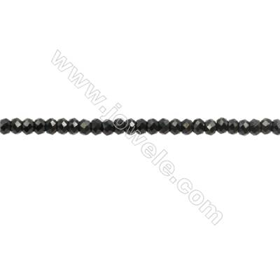 Natural Spinel Beads Strand  Faceted Abacus  Size 2x3mm  hole 0.6mm  about 186 beads/strand  15~16""