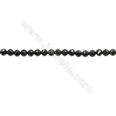 Natural Spinel Beads Strand  Faceted Round  Diameter 3mm  hole 0.6mm  about 136 beads/strand  15~16""