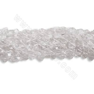 Natural Rock Crystal Beads...