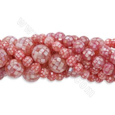 Pink Shell  Mosaic Round...