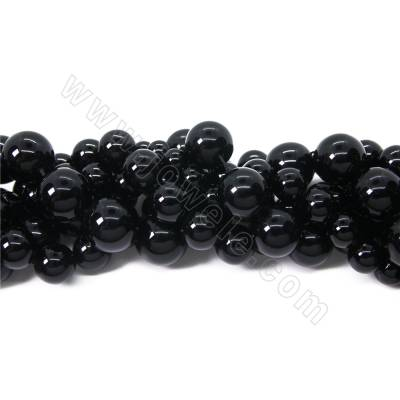 Natural black quartz beads...
