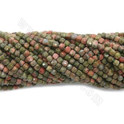 Natural  unakite beads...