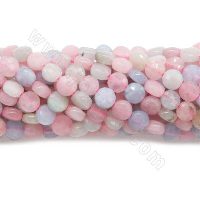 Natural  morganite beads...