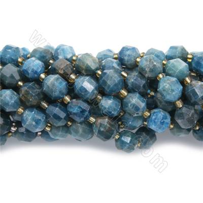Natural blue apatite beads...